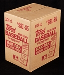 1985 Topps Baseball Rack Pack Sealed Case (3/24)