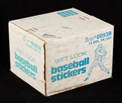 1978 Fleer Baseball Stickers Unopened Wax Case (12/24)