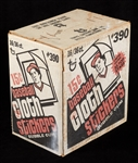 1977 Topps Cloth Stickers Wax Box Unopened Case (16/36) (Fritsch/BBCE)