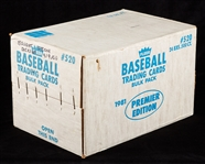 1981 Fleer Baseball Vending Sealed Case (24/500)