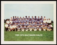 1975 Baltimore Colts Promotional Team Photograph (Belichick Rookie!)