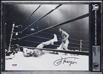 Joe Frazier Signed 8x10 Photo (PSA/DNA) (Graded BAS 10)