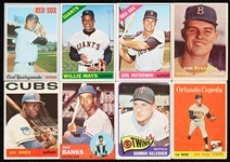Huge 1949-70 Bowman and Topps Baseball Array With Six Dozen HOFers, Stars, Rookies (974)
