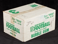 1983 Fleer Football Unopened Wax Case (12/36)