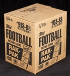 1988 Topps Football Rack Box Case (3/24)