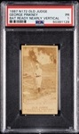 1887 N172 Old Judge George Pinkney PSA 1
