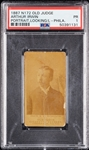 1887 N172 Old Judge Arthur Irwin PSA 1
