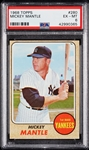 1968 Topps Mickey Mantle No. 280 PSA 6