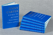 Jimmy Carter Signed Books Group (6)