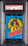 1975 Topps Basketball Wax Pack (Graded PSA 6)