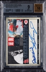 2008 SP Legendary Cuts Ken Griffey Jr. & Stan Musial Generations Signatures (17/75) BGS 9 (AUTO 10)