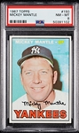1967 Topps Mickey Mantle No. 150 PSA 8