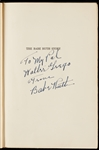"Babe Ruth Signed ""The Babe Ruth Story"" First Edition Presentation Copy Book (Graded BAS 10)"
