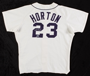 Willie Horton 1975 Game-Used Detroit Tigers Home Jersey