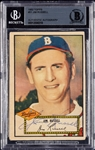 Jim Russell Signed 1952 Topps No. 51 (BAS)
