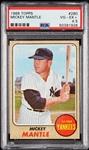 1968 Topps Mickey Mantle No. 280 PSA 4.5