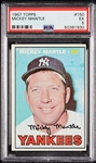 1967 Topps Mickey Mantle No. 150 PSA 5