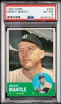 1963 Topps Mickey Mantle No. 200 PSA 6