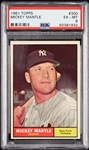 1961 Topps Mickey Mantle No. 300 PSA 6