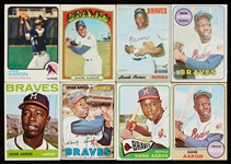 1955-76 Topps Hank Aaron Array, Regular Issue and Specials (57)