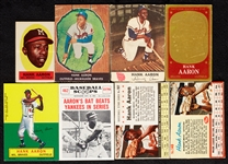 1955-75 Hank Aaron Group of Topps Specials and Peripherals (20)