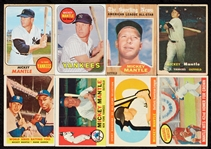 1957-68 Topps Mickey Mantle Regular-Issue Cards and Specials (26)