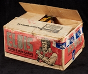 1978 Donruss Elvis Wax Box Case Minus Two Boxes (14/36)