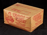 1982 Donruss Knight Rider Unopened Wax Case (16/36)