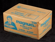 1983 Donruss Magnum P.I. Unopened Wax Case (16/36)