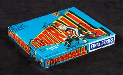 1972 Topps Football 3rd Series Wax Box (24) (Fritsch/BBCE)