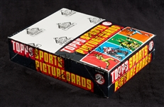 1979 Topps Football Rack Pack Box (24) (Fritsch/BBCE) (FASC)