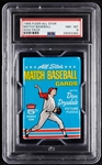 1966 Fleer All Star Match Baseball Wax Pack (Graded PSA 8)