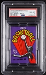 1972 Topps Basketball Wax Pack - Rick Barry Back (Graded PSA 8)