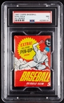 1967 Topps Baseball 4th Series Wax Pack (Graded PSA 7)