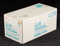 1978 Fleer Football Unopened Wax Case (12/24)