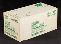 1979 Fleer Football Unopened Wax Case (12/24)