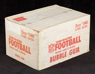 1980 Fleer Football Unopened Wax Case (12/36)