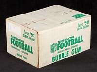 1981 Fleer Football Unopened Wax Case (12/36)