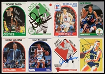 Signed 1989-90 and 1990-91 Hoops Card Collection (190)