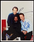 Robin Williams, Whoopi Goldberg & Billy Crystal Signed 8x10 Photo (BAS)