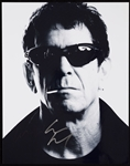 Lou Reed Signed 11x14 Photo (BAS)