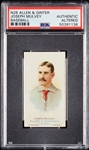 1888 N28 Allen & Ginter Joseph Mulvey PSA Authentic