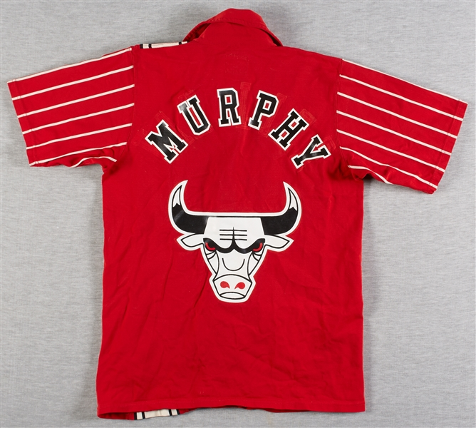 John Murphy Circa 1972-75 Chicago Bulls Road Warm-Up Jacket