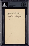 Willie Mays Vintage Signed GPC (1954) (BAS)
