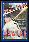 "Mickey Mantle Signed ""All My Octobers"" Book (BAS)"
