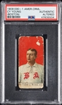 1909 E90-1 American Caramel Cy Young Boston PSA Authentic Altered