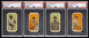 1910 E98 Set of 30 PSA 1 Group with Chief Bender (4)