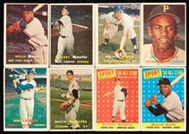 1950s Topps and Bowman Baseball HOFers and Stars Group (141)