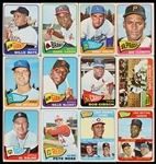 1965 Topps Baseball Massive Hoard With HOFers, Stars, Specials (1,800)