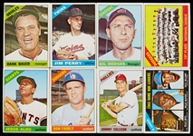 1966 Topps Baseball Massive Hoard With HOFers, Stars, Specials (1,500)